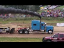 Reedsville WV Truck Pulls V 8 Mack Superliner Street Legal Semi Dump Hot 8 11 17