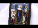 Икона старинная Богородица Всех скорбящих радость с грошиками DR0312