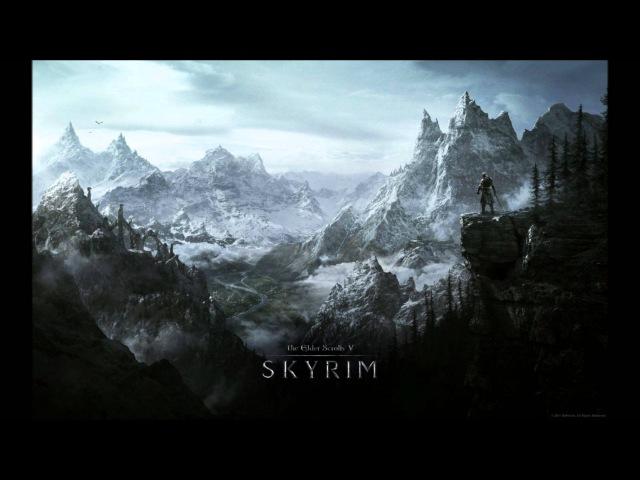 TES V Skyrim Soundtrack - The Bannered Mare