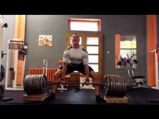 Кшиштоф Вербицкий, тяга 430 кг