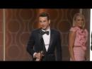 74th Golden Globe Awards - Джастин Гурвиц  «Ла Ла Лэнд» (лучший саундтрек) - видео вручения статуэтки (на английском языке)