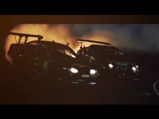Drift Vine | JZX100 Daigo Saito vs Supra Tetsuya Hibino Caught Fire at Odaiba
