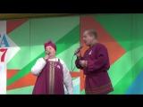 12 июня 2017 год. Пинега. Мария Ивакина и Андрей Макаров.