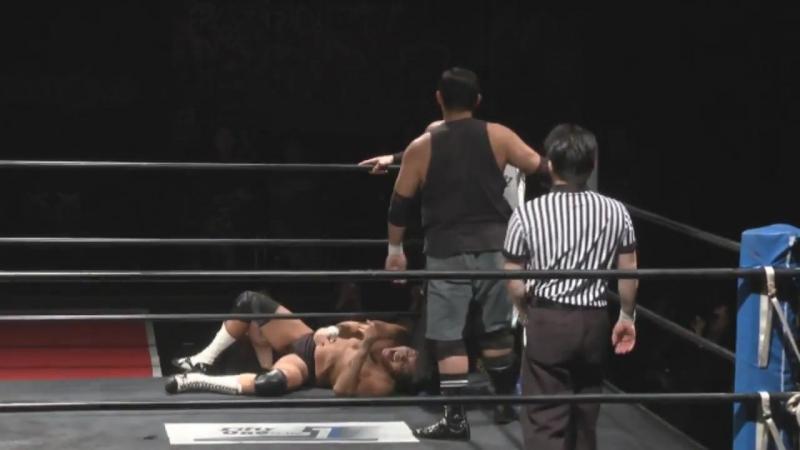 GENTARO, Kenichiro Arai vs. Mammoth Sasaki, Kamui (FREEDOMS - Shin-kiba 1st RING)