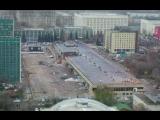 Снос здания старого аэровокзала на Ленинградском проспекте