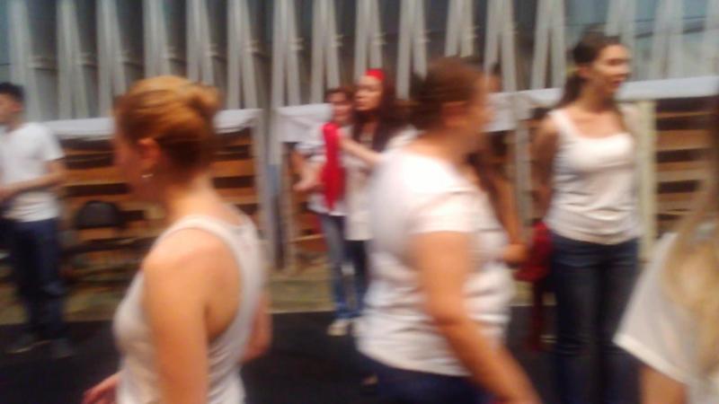 Репетиция номера (на сцене) | Havana de Primera в Кемерово | 14.10.2017