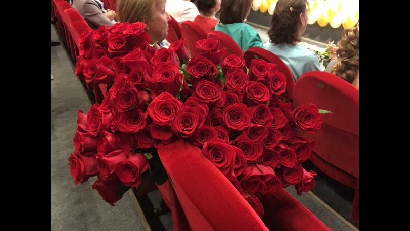 101 роза для Ирины Геннадиевны ♥