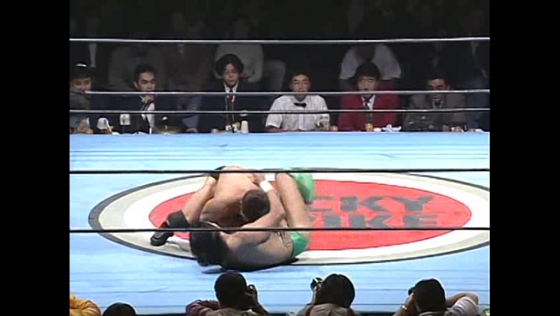 Frank Shamrock Vs Masakatsu Funaki II [Pancrase] 04 11 1995