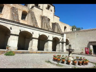 At museum Cajamarca