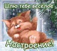 Зима, отличного настроения!