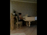 Бетховен Лунная соната 1  часть, исп. Болатчиева  Элина 2