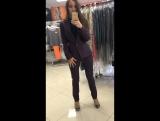 Костюм пиджак, брюки и блуза