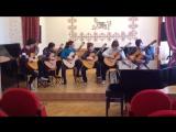 Гитарист-композитор Виктор Ерзунов. Быстрый танец для ансамбля гитаристов