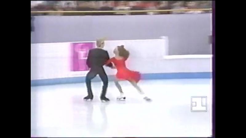 1994 Dance Maya Usova Alexander Zhulin EX Tango