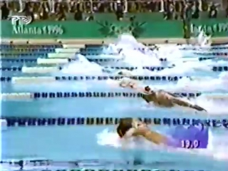 (staroetv.su) XXVI летние Олимпийские игры (РТР, август 1996) Плавание, мужчины, 100 м (баттерфляй)