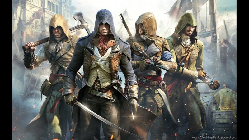 Просто завораживающий трейлер (Assassins Creed Unity E3 2014 World Premiere Cinematic Trailer [EUROPE])