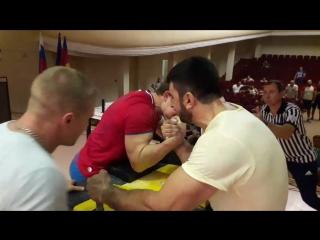 Эдгар Кесов Александр Логвин 1 встреча Абсолютка ЖЛ Кубани 2017