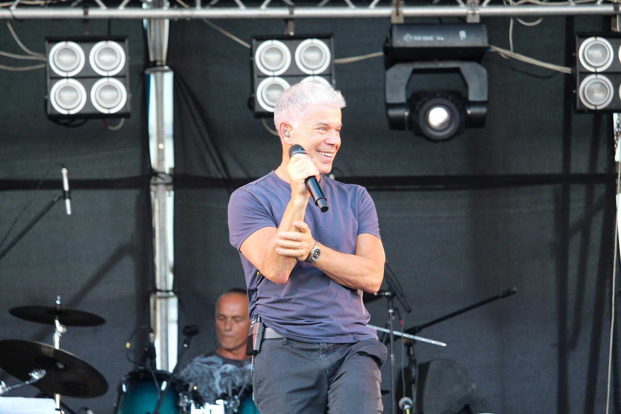 Концерт Олега Газманова в Луганске посетили около 10 тыс. человек