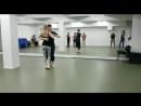 Jānis un meitene Urban kiz academy
