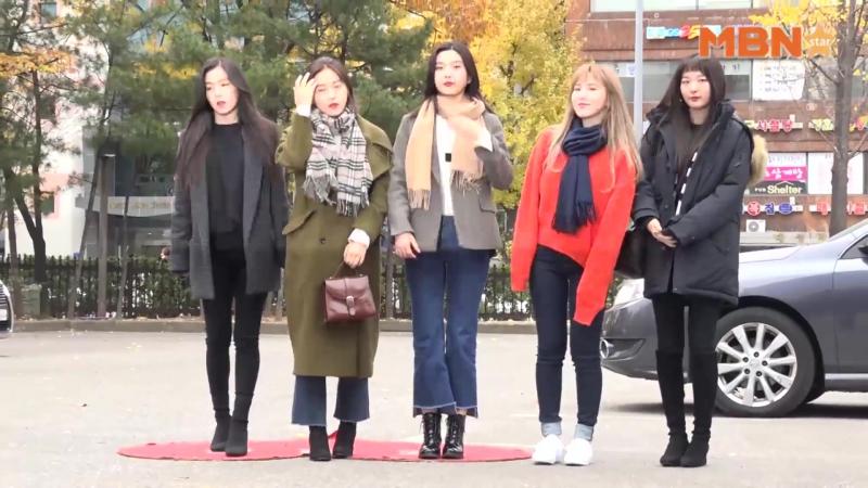 171117 Red Velvet OTW KBS Music Bank MBN