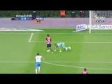 Игрок Гвадалахары отобрал мяч у вратаря и вырвал победу для команды