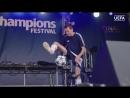 Фристайл на Фестивале чемпионов УЕФА