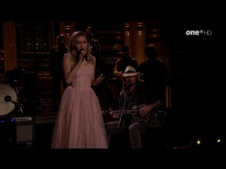 Miley Cyrus & Billy Ray Cyrus - Wildflowers (The Tonight Show Starring Jimmy Fallon - 2017-10-05)