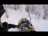 Ski-doo Freeride 2015 - GoPro HERO4 Session