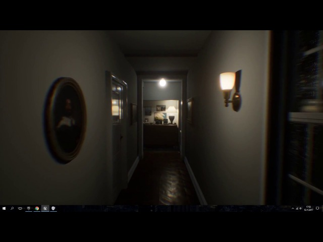 P.T. recreation on Unreal Engine 4 WIP