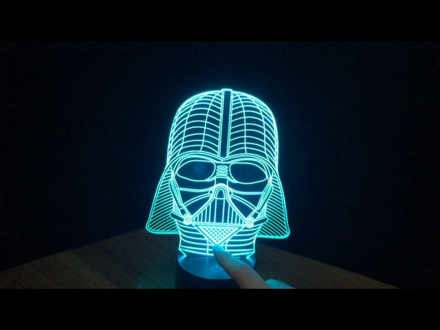 Дарт Вейдер | 3D ночник