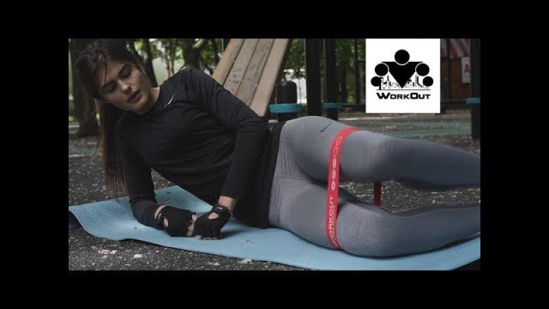 20 лучших упражнений с резиновыми мини-петлями для фитнес тренировок | Катя | Мага...