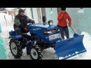 Уборка снега 2016 мототрактор Garden Scout T12DIF-VT