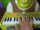 All Star by smash mouth but its played on a Shrek Piano