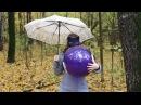 """Blowing Balloons United balloon on a rainy day (Qualatex 16"""", no pop)"""