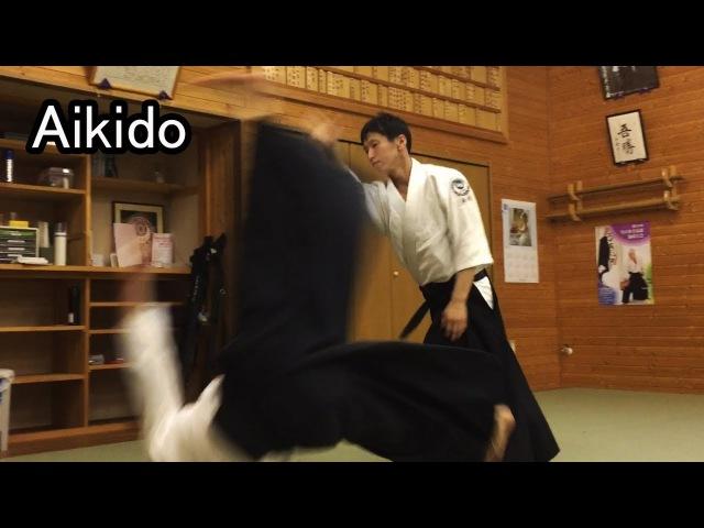 Aikido - JYU WAZA 合気道 自由技