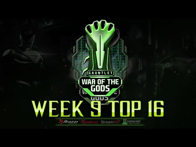 Injustice 2 - War of The Gods - W9 Top 16 - ft honeybee, semiij dragon