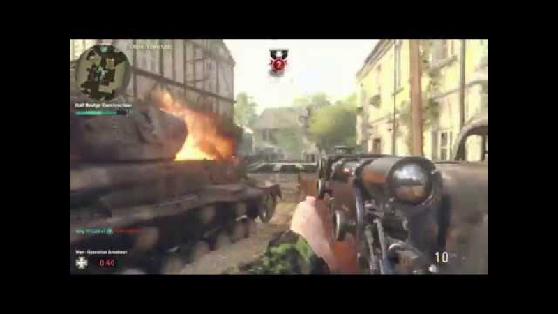 CoDWW2 Montage Part24 (on PC with GAMEPAD) Sniper