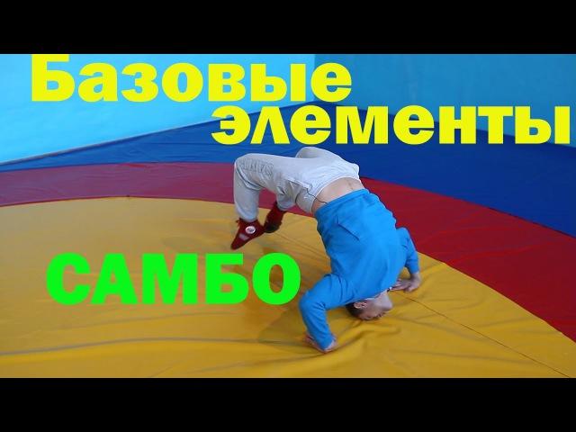 Тренировка самбо Промокашка, маятник, забегания и кувырок через живот базовые ...