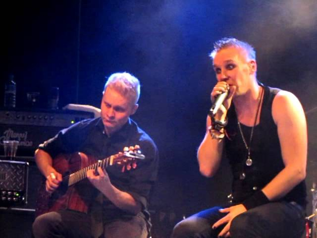 Poets Of The Fall - The Ballad Of Jeremiah Peacekeeper. 18-11-2012 @ C-Club, Berlin