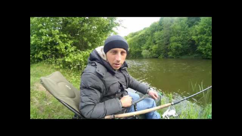 Рибалка на фідер р. Горинь с. Хотинь