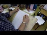 Академический рисунок №2 Набросок человека по ключевым точкам и характерные черты...