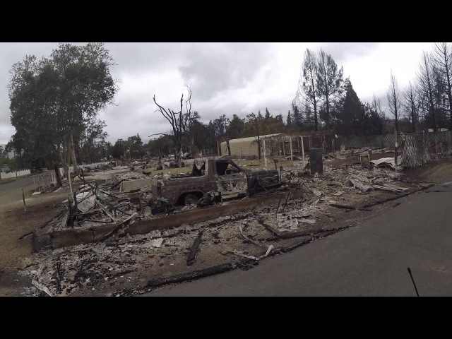 Valley Aftermath Middletown Burned A driving tour of the damage from the near downtown Middletown, CA