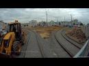 Трамвайное кольцо у Белорусского вокзала построено