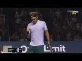Roger Federer vs. Benoit Paire  ATP Basel  Round 2