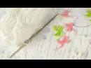 Мастер класс вязание крючком / Листочки / Бюджетный декор для скрапбукинга