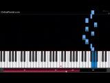 Death Note - L's Theme - EASY Piano Tutorial -