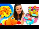 Renkleri öğreniyoruz. 🌈Sevcan Play Doh ile renkli yemekler yapıyor. #hamuroyunları