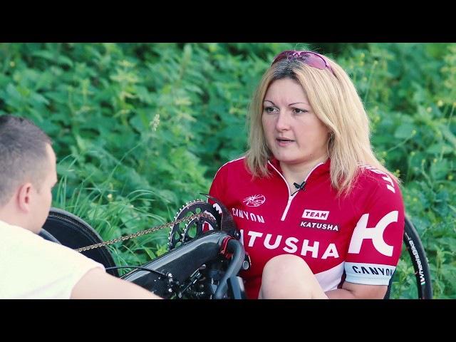 Чемпионка паравелоспорта - о мотивации, барьерах , Мерлин Менсоне и Сергее Жукове)