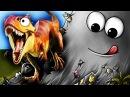 СЛИЗЕНЬ БОБ ПОЖИРАТЕЛЬ ДИНОЗАВРОВ Съедобная планета Игровой мультик для детей T...