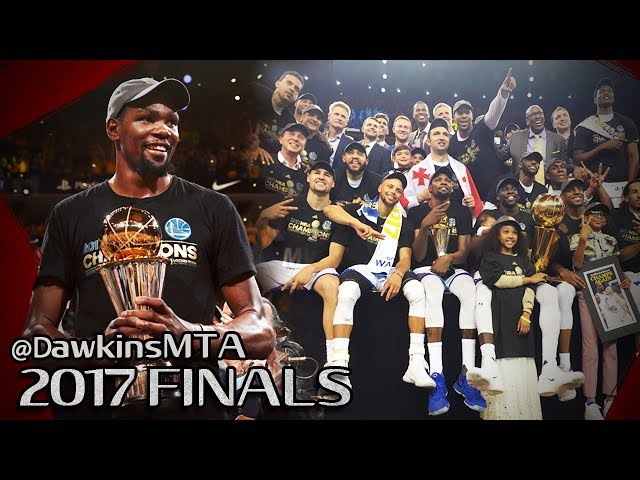 Warriors 2017 Trophy Presentation - Durant Finals MVP Interview - Kerr Steph Klay Dray Interviews